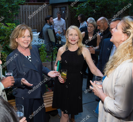 From left, Susan Ungaro, Patricia Clarkson and Amanda Freitag attend the kick-off event for the James Beard Foundation Taste America 10-city national tour, held at the James Beard House in New York City