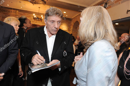"""Stock Photo of William Peter Blatty attends the world premiere opening of """"The Exorcist"""" at the Geffen Playhouse on in Westwood, California"""
