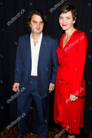 Jacob Lief and Maggie Gyllenhaal attend Ubuntu Education Fund 2013 Gala on in New York