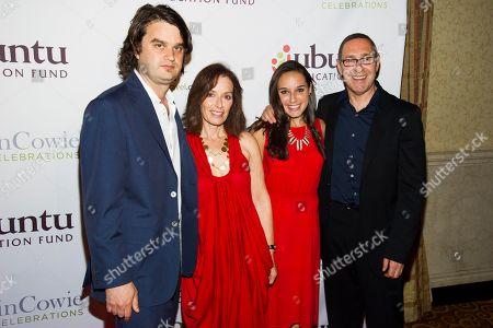 Jacob Lief, left, Janice Lipman, Alison Lipman and Frank Lipman attend Ubuntu Education Fund 2013 Gala on in New York