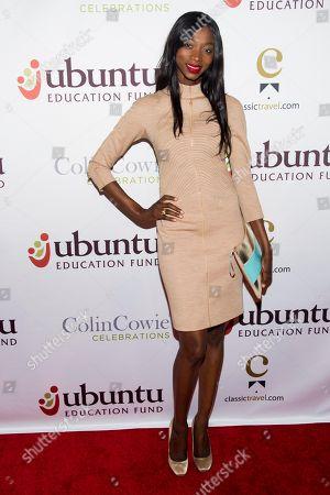 Stock Picture of Georgie Badiel attends Ubuntu Education Fund 2013 Gala on in New York