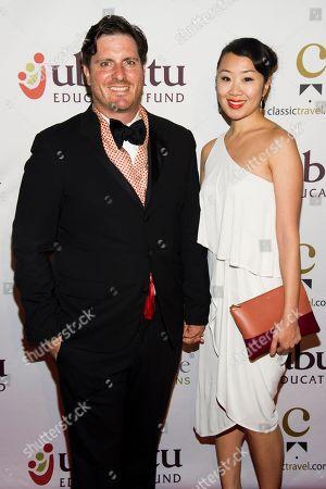 Seamus Mullen and Lynn Juang attend Ubuntu Education Fund 2013 Gala on in New York