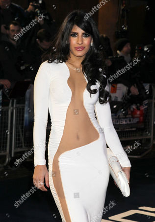Stock Image of Jasmine Walia at the World Premiere of RoboCop, held at the BFI Southbank, London, on