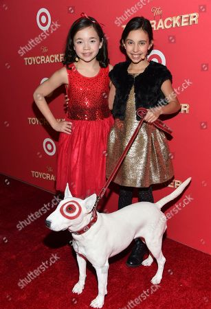 """Editorial image of World Premiere of Target's """"Toycracker"""", New York, USA"""