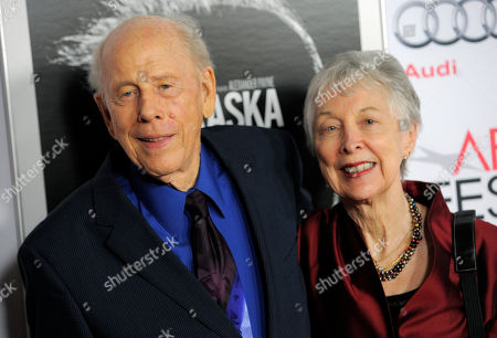 "Stock Image of Judy Howard Rance Howard, left, a cast member in ""Nebraska,"" and his wife Judy pose together at the 2013 AFI Fest premiere of the film at the TCL Chinese Theatre on in Los Angeles"