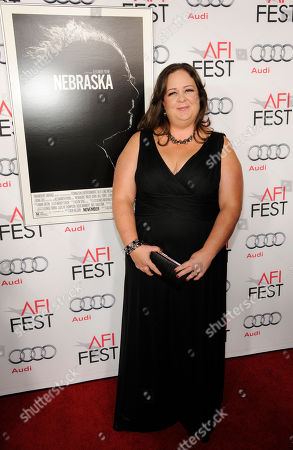 """Missy Doty, a cast member in """"Nebraska,"""" poses at the 2013 AFI Fest premiere of the film at the TCL Chinese Theatre on in Los Angeles"""