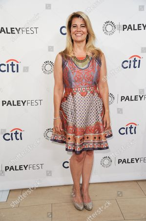 """Stock Picture of Lisa Whelchel arrives at the 2014 PALEYFEST Fall TV Previews - """"The Facts Of Life"""" Reunion on Monday, Sept.15, 2014, in Beverly Hills, Calif"""