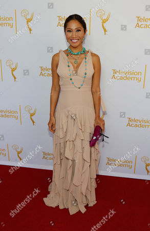 Stock Picture of Julie Chang arrives at the Television Academy's 66th Los Angeles Area Emmy ? Awards on at The Leonard H. Goldenson Theater in the NoHo Arts District in Los Angeles
