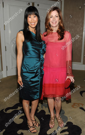 "MAY 2: TV Correspondent Laura Ling (L) and actress Dana Delany attend the Academy of Television Arts & Sciences Presents ""The 5th Annual Television Academy Honors"" at the Beverly Hills Hotel on in Beverly Hills, California"
