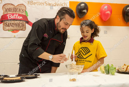 Editorial image of Brownberry Bread National Sandwich Day Event, Chicago, USA