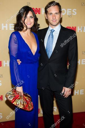 Jessica Ciencin Henriquez and Josh Lucas attend CNN Heroes: An All-Star Tribute on Tuesday, Nov.19, 2013 in New York