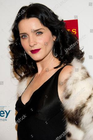 Michelle Hicks attends Elton John's AIDS Foundation's 11th annual Enduring Vision benefit on in New York