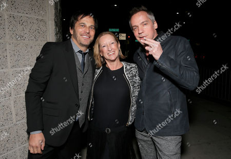 Executive Producer Nathan Ross, Fox Searchlight President of Production Claudia Lewis and Director Jean-Marc Vallee attends the Los Angeles Premiere of Fox Searchlight's 'Wild' at AMPAS Samuel Goldwyn Theater on in Los Angeles