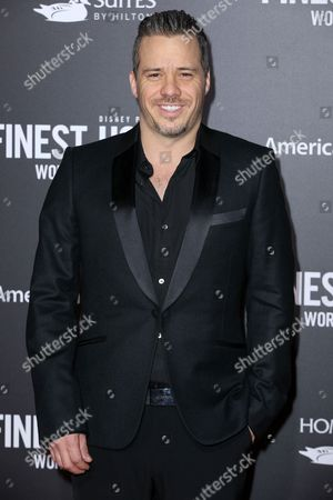 """Michael Raymond James arrives at the Premiere of """"The Finest Hours"""" at TCL Chinese Theater, in Los Angeles"""