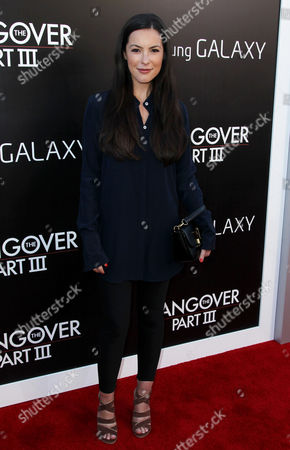 "Sasha Barrese arrives at the LA Premiere of ""The Hangover: Part III"" at the Westwood Village Theatre on in Los Angeles"