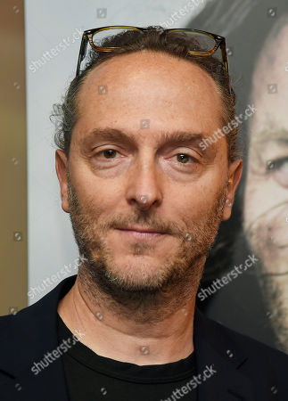"""Stock Photo of Emmanuel Lubezki, cinematographer of """"Last Days in the Desert,"""" poses at a special screening of the film at Laemmle's Royal Theatre, in Los Angeles"""