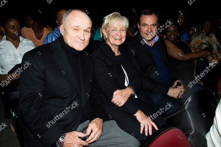 New York City Police Commissioner Ray Kelly, left, Veronica Kelly and Greg Kelly attend McDonald's Gospelfest 2013 at the Prudential Center on in Newark, NJ