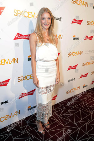 """Stock Image of Winter Ave Zoli seen at the Los Angeles Premiere of FilmBuff's """"Spaceman"""" presented by Budweiser, in Los Angeles, CA"""