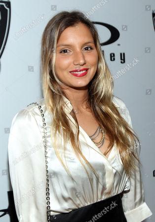 Surfer Maya Gabeira arrives at the Red Bull Sweet 16 Celebration for Lindsey Vonn, in Los Angeles