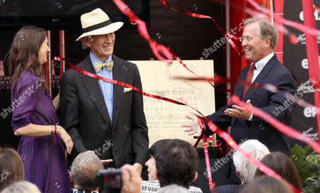 Editorial photo of Rodeo Drive Walk of Style Plaque Unveiling, Beverly Hills, USA