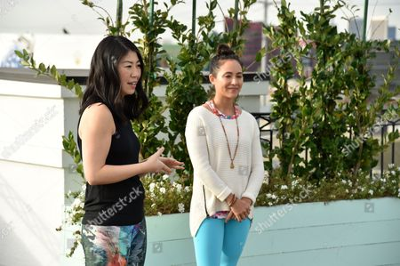 SELF Editor-in-Chief Joyce Chang, left, and Briohny Smith attend SELF: Get #UPnOUT at Palihouse, in West Hollywood, Calif