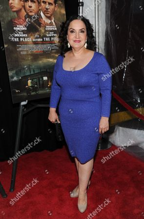 """Actress Olga Merediz attends the premiere of Focus Features' """"The Place Beyond The Pines"""" at the Landmark Sunshine Theater on in New York"""