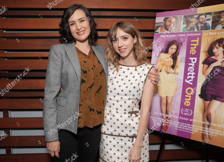 Writer/Director Jenee LaMarque and Zoe Kazan attend The Pretty One Special Screening at UTA on in Los Angeles