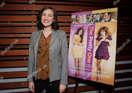 Stock Image of Writer/Director Jenee LaMarque attends The Pretty One Special Screening at UTA on in Los Angeles