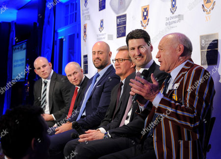 Editorial image of University of Queensland Rugby Inaugural Benefit Dinner, New York, USA