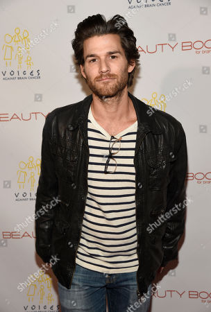 """Actor Johnny Whitworth poses at """"The Beauty Book for Brain Cancer"""" Edition Two Launch Party, in Los Angeles"""