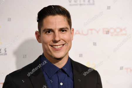 """Actor Sean Faris poses at """"The Beauty Book for Brain Cancer"""" Edition Two Launch Party, in Los Angeles"""