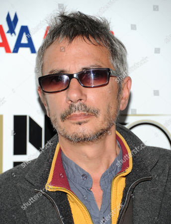 """Director Leos Carax attends the premiere of """"Holy Motors"""" during the 2012 New York Film Festival at Alice Tully Hall on in New York"""