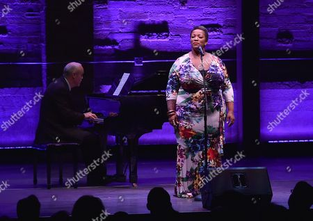Frenchie Davis performs at Backstage at the Geffen, in Los Angeles