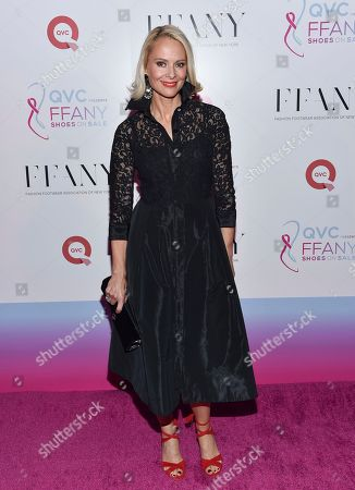 """Louise Camuto attends QVC's """"FFANY Shoes On Sale"""" gala, benefitting breast cancer research and education, at the Waldorf Astoria, in New York"""