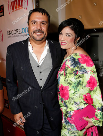 Stock Picture of Alex Flores Martinez and Amy Valdez attend A New Way of Life Reentry Project 14th Annual Fundraising Gala on in Los Angeles, California