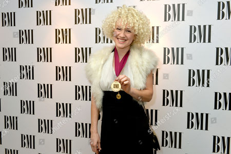 Stock Photo of Fiona Bevan at the BMI awards in London