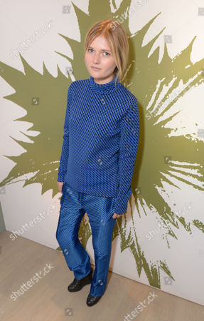 Sophie Kennedy Clarke at the Pringle of Scotland Store Launch Party during London Fashion Week in London on
