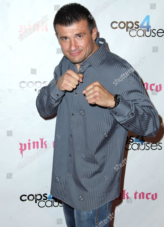 """Stock Photo of Danny Musico attends the Cops 4 Causes """"Heroes Helping Heroes"""" benefit at Pink Taco, in West Hollywood, Calif"""
