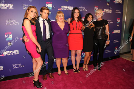 "Editorial picture of Cosmopolitan Hosts ""Super Fun Night"" Premiere, New York, USA"