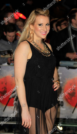 Rebecca Fernando arrives for the UK Premiere of Django Unchained at a central London cinema