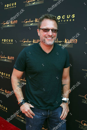 "Steve Blum seen at Focus Features and LAIKA Grand Opening of ""From Coraline to Kubo: A Magical LAIKA Experience"" at The Globe Theatre, in Universal City, CA"