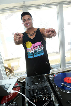 DJ Fresh Costa spins at Kia Beach House powered by Sabra, on in Malibu,CA