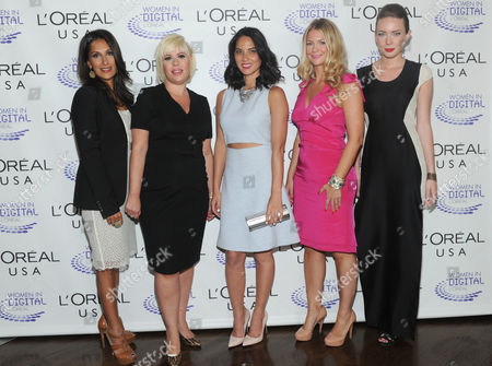 "Editorial picture of L'Oreal ""NEXT"" Generation Awards Ceremony, New York, USA"