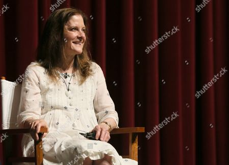 "Hallie Foote participates in a panel at the Lifetime screening of ""The Trip to Bountiful"" at the Leonard H. Goldenson Theatre, in the NoHo Arts District of Los Angeles"