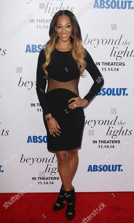 """Alexis Welch attends the premiere of """"Beyond The Lights"""" at the Regal Union Square, in New York"""