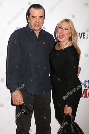 """Stock Photo of Actor Chazz Palminteri and wife Gianna Palminteri attend the premiere of """"Henry & Me"""" at the Ziegfeld Theatre on in New York"""