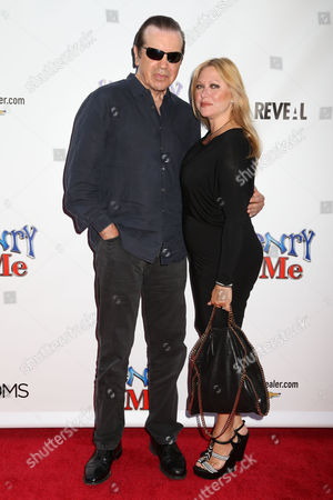 """Actor Chazz Palminteri and wife Gianna Palminteri attend the premiere of """"Henry & Me"""" at the Ziegfeld Theatre on in New York"""