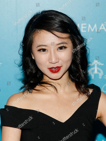 """Stock Photo of Annie Q attends a screening of """"The Rewrite"""" at Landmark Sunshine Cinema, in New York"""