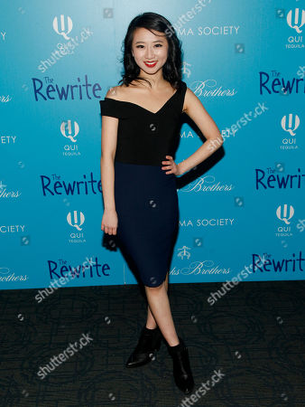 """Editorial image of NY Special Screening Of """"The Rewrite"""", New York, USA"""