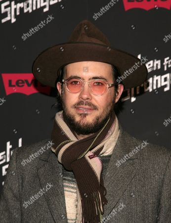 "Recording artist Elvis Perkins attends a screening of ""Mistaken For Strangers"" on in New York"